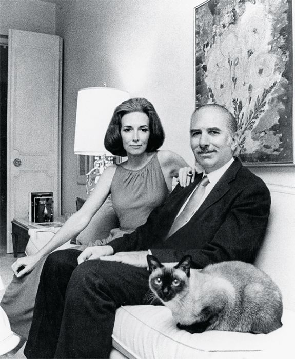 Helen Gurley Brown and David Brown, 1963. Sophia Smith Collection, Smith College.