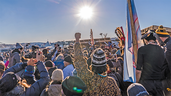Standing Rock, North Dakota, December 4, 2016. Joe Brusky/Flickr.