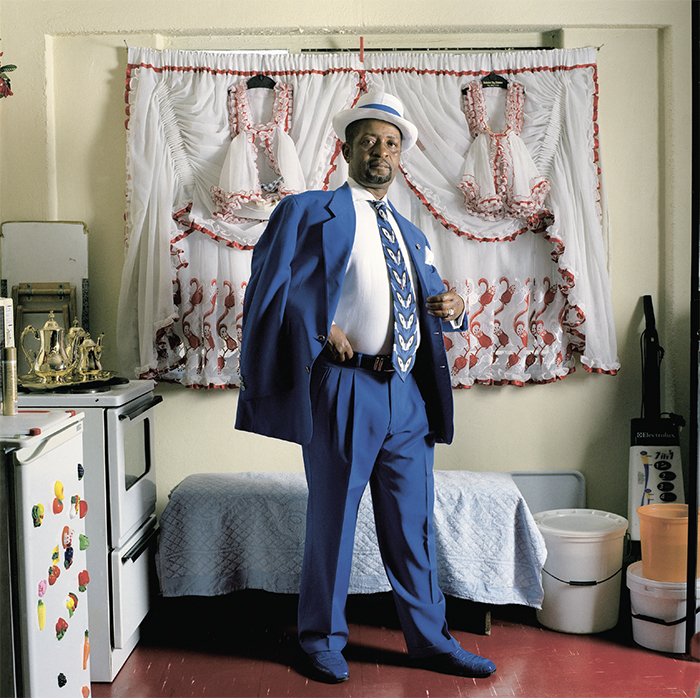 "Marc Shoul, Adolphus, Soweto, South Africa, 2007, ink-jet print, 39 3/8 × 39 3/8""."
