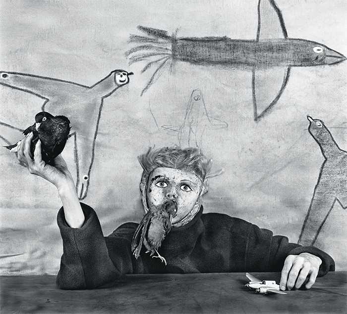 "Roger Ballen, Take Off, 2012, ink-jet print, 35 3/8 × 35 3/8"". © Roger Ballen."