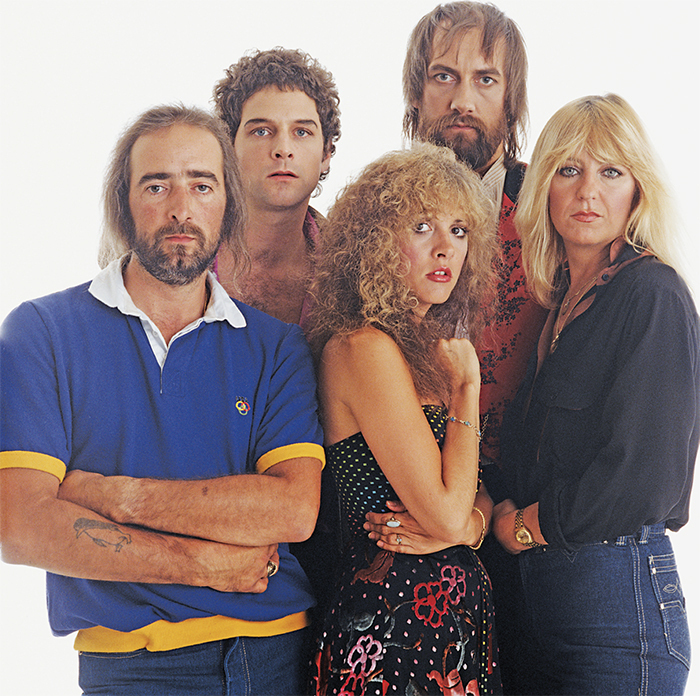 Stevie Nicks with Fleetwood Mac, 1982. David Montgomery.