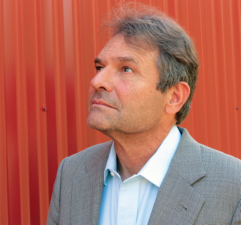 Denis Johnson, ca. 2014. Cindy Lee Johnson.