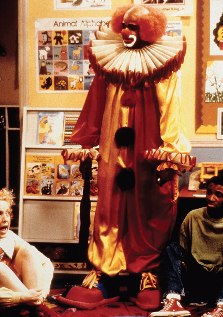 Damon Wayans as Homey D. Clown in In Living Color, 1992. Fox.