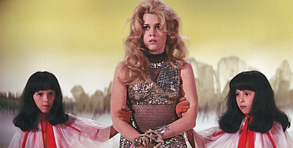 Jane Fonda in Roger Vadim's Barbarella, 1968. © Paramount Pictures Corporation.