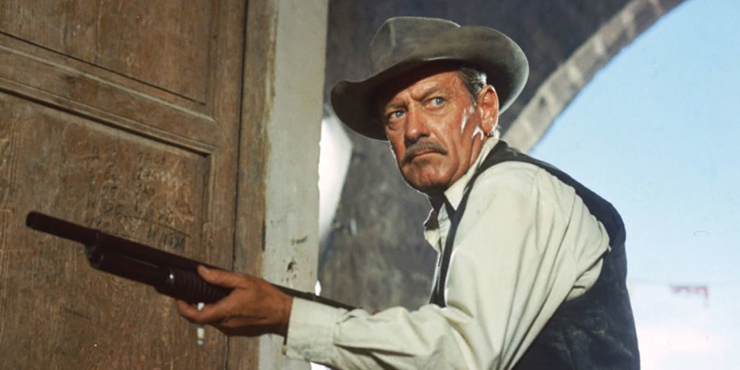 William Holden in Sam Peckinpah's The Wild Bunch, 1969.