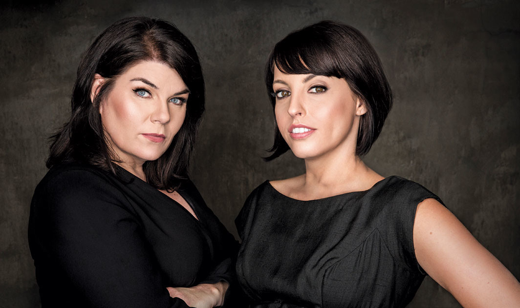 Karen Kilgariff and Georgia Hardstark, 2018.