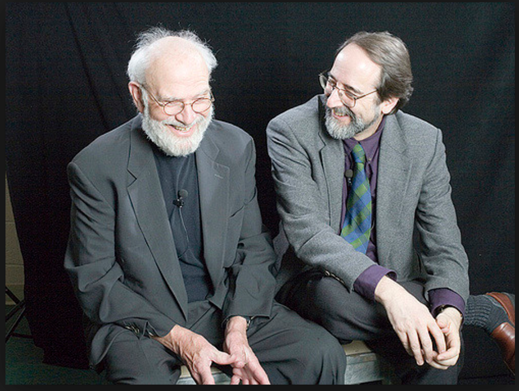 Oliver Sacks and Lawrence Weschler