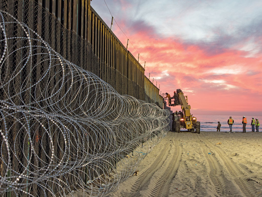 Border Field State Park, San Diego, November 15, 2018. Mani Albrecht/U.S. Customs and Border Protection
