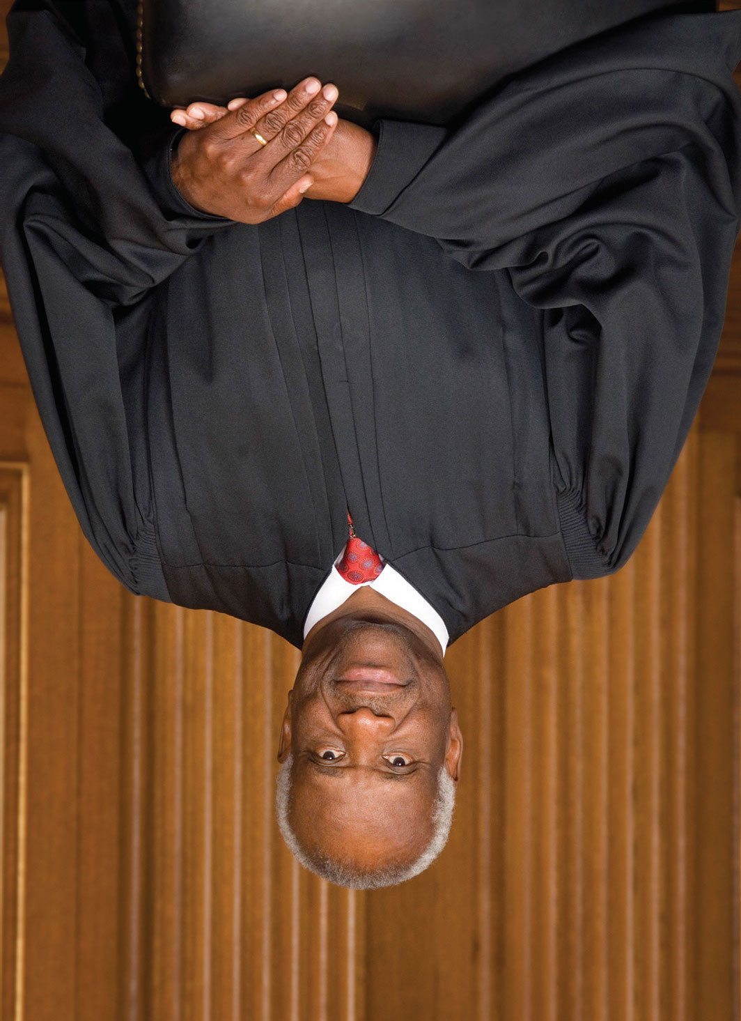 Clarence Thomas, 2007. Steve Petteway/Collection of the Supreme Court of the United States