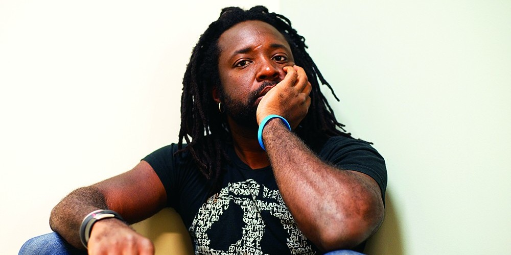 Marlon James. Photo: Jeffrey Skemp