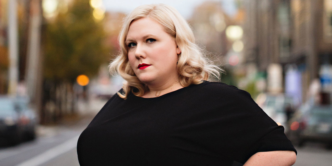 Lindy West. Photo: Jenny Jimenez