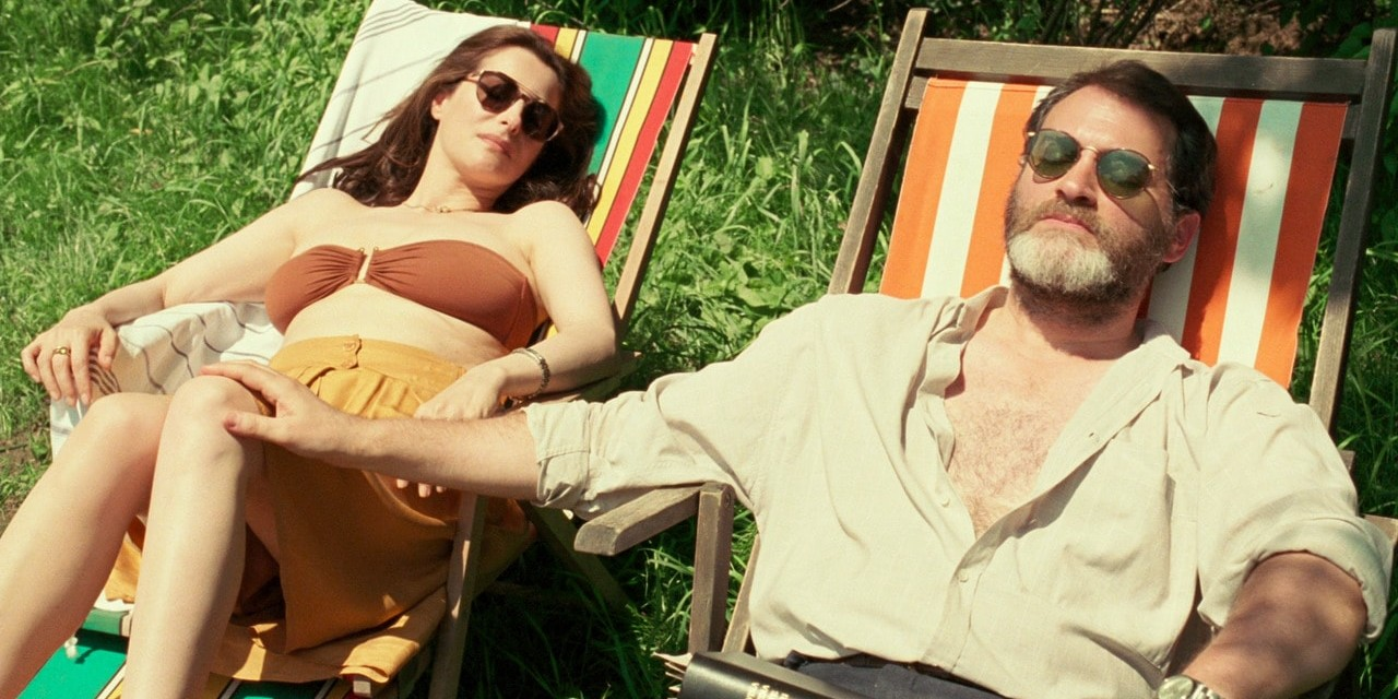 Amira Casar and Michael Stuhlbarg in Luca Guadagnino's Call Me by Your Name, 2017. Sony Pictures Classics.