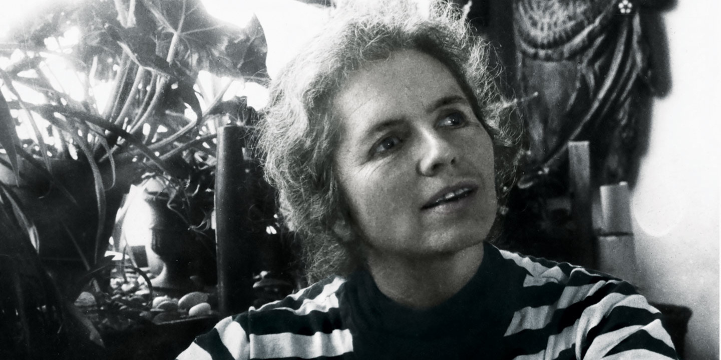 Grace Paley. Photo: Karl Bissinger