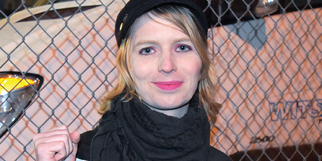 Chelsea Manning, New York, January 2018. Manolo Luna/Wikicommons