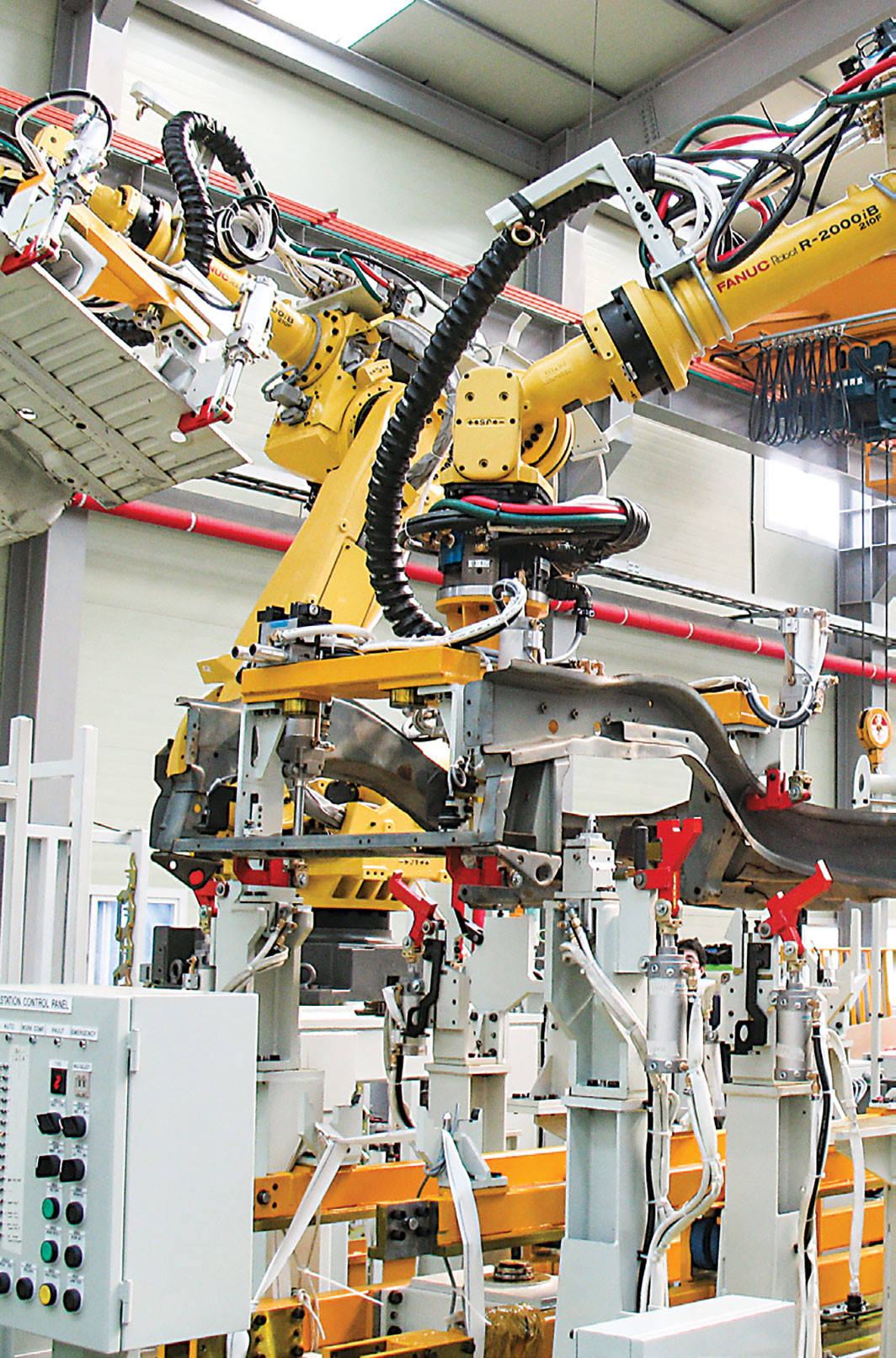 Automobile manufacturing plant, 2008. Wikicommons