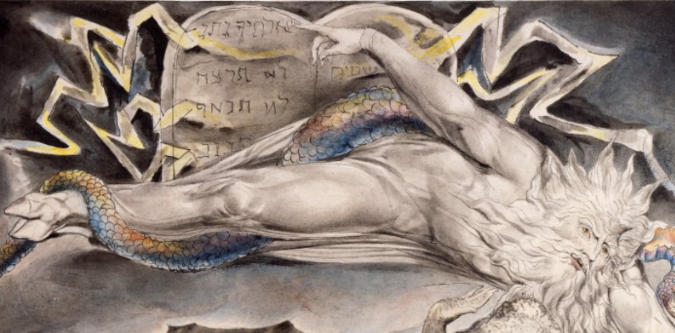 William Blake, Job's Evil Dreams