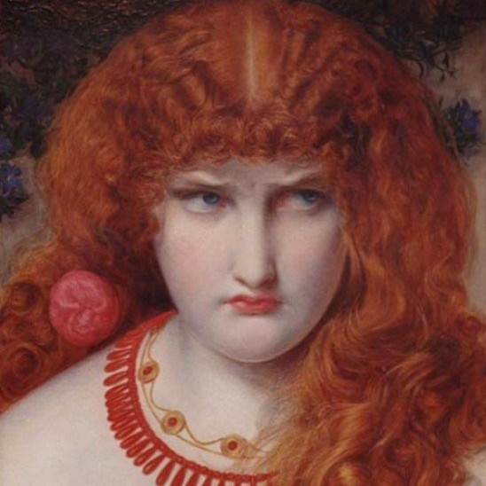 Anthony Fredrick Sandys/Alamy, Helen of Troy, 1867