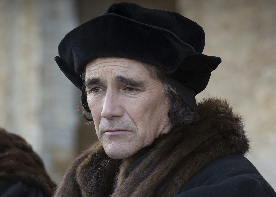 Stormy Daniels Promotional image for Wolf Hall, season 1, 2015. Thomas Cromwell (Mark Rylance).
