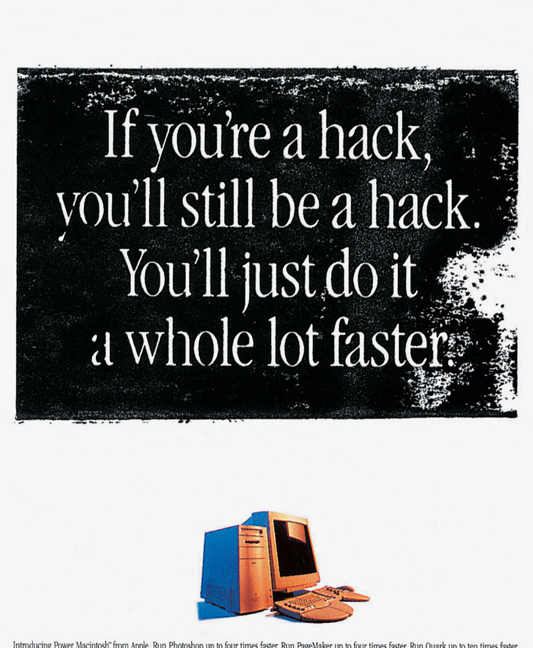 Apple Power Macintosh advertisement, 1994.