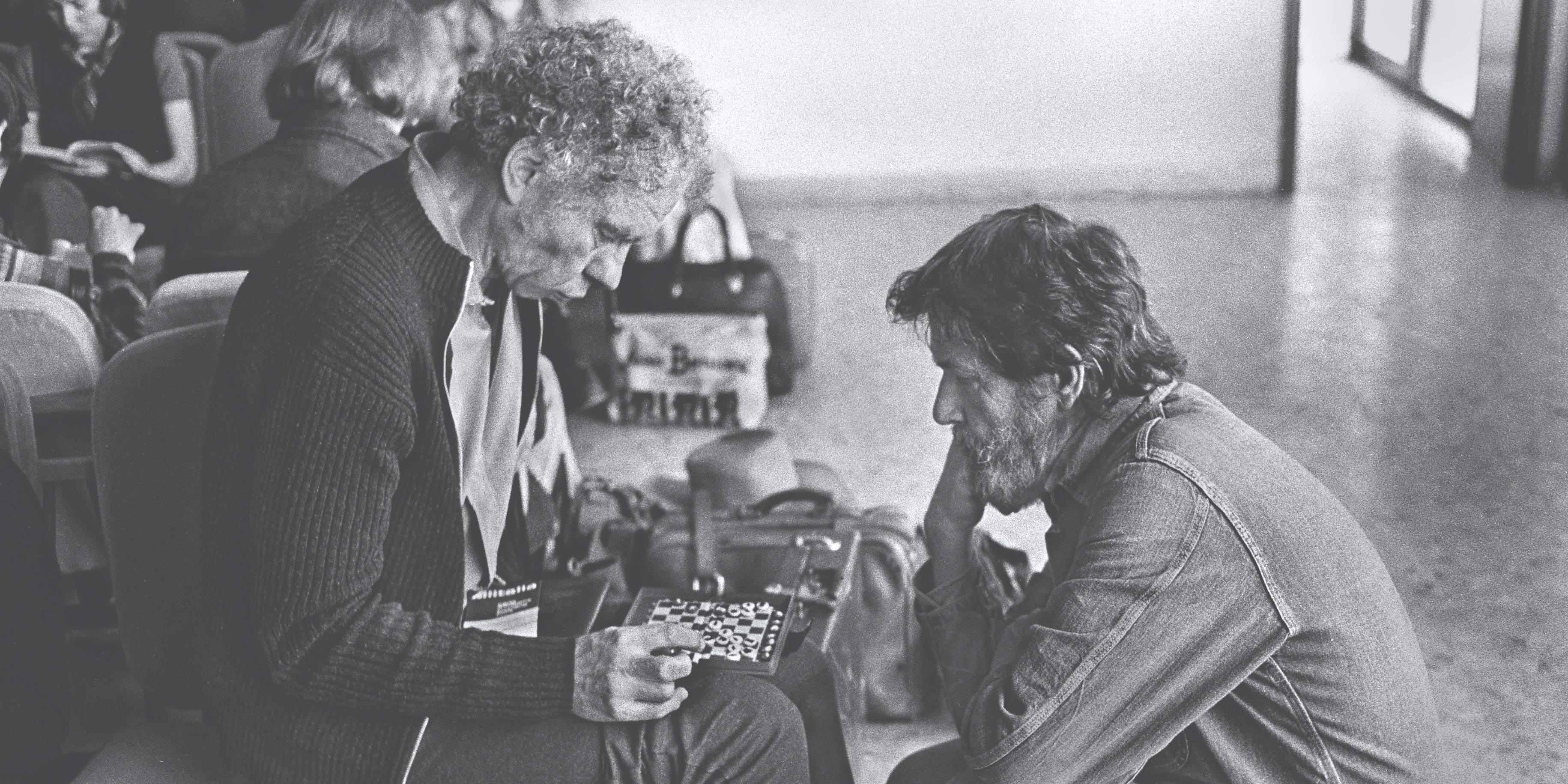 Merce Cunningham and John Cage. Photo: James Klosty, © James Klosty