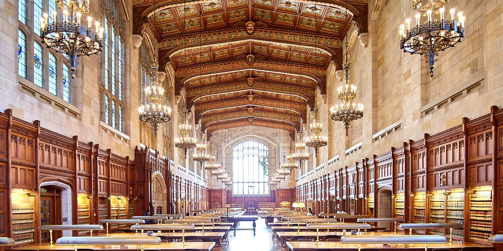 University of Michigan Law Library. Photo: Wikicommons/Cadop