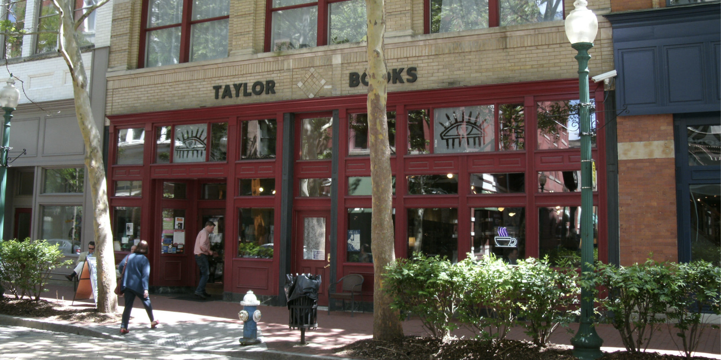 Charleston, West Virginia's Taylor Books. Photo: Taylor Books.