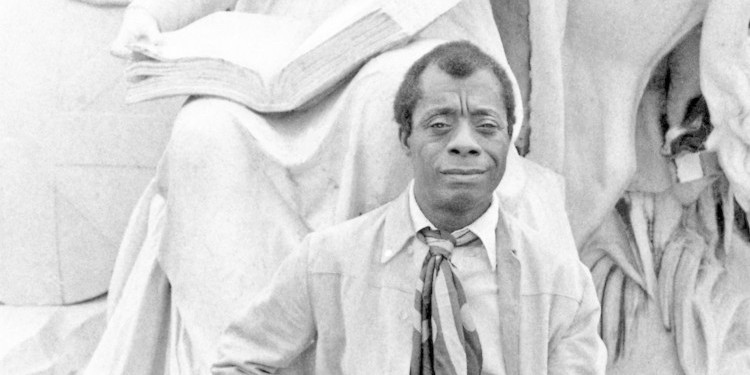 James Baldwin, Kensington Gardens, London, 1969.
