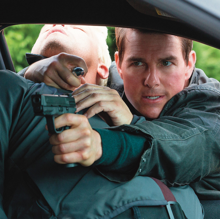 Edward Zwick, Jack Reacher: Never Go Back, 2016. Jack Reacher (Tom Cruise).
