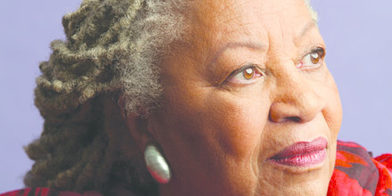 Toni Morrison. Photo: Timothy Greenfield-Sanders. Knopf/Doubleday