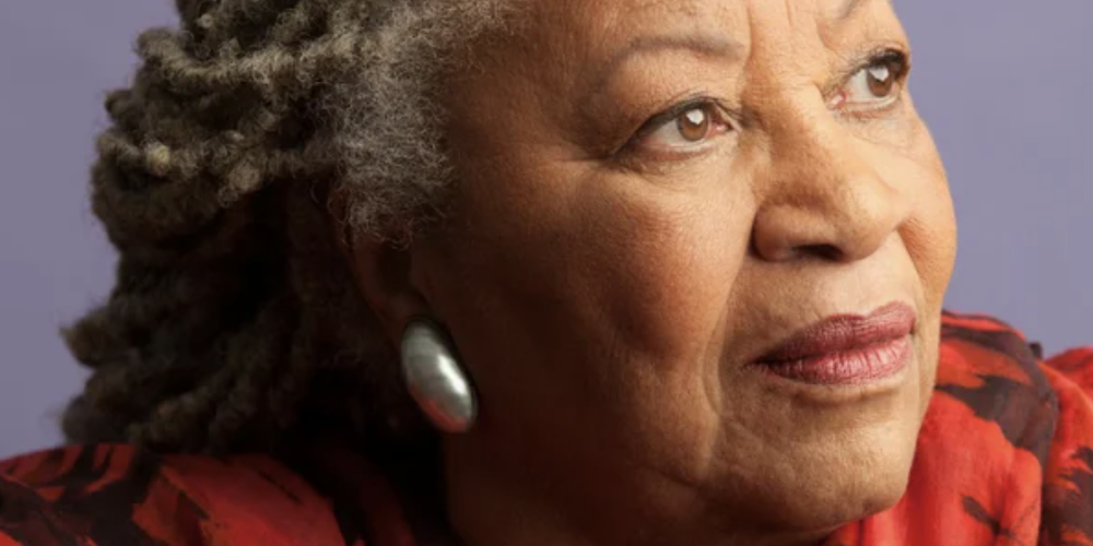 Toni Morrison. Photo: Timothy Greenfield Sanders. Knopf/Doubleday